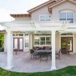 Elitewood Lattice Patio Covers Four Seasons Building Products