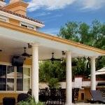 elitewood aluminum solid patio cover orange county california