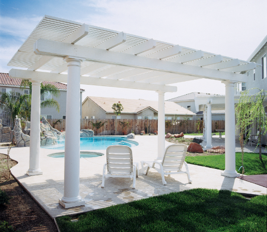 Elitewood Lattice Patio Covers <small>Four Seasons Building Products</small>
