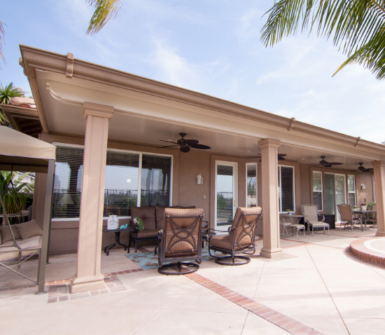 Elitewood Solid Patio Covers <small>Four Seasons Building Products</small>