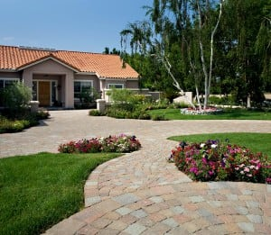Angelus Concrete Pavers in Orange County, California