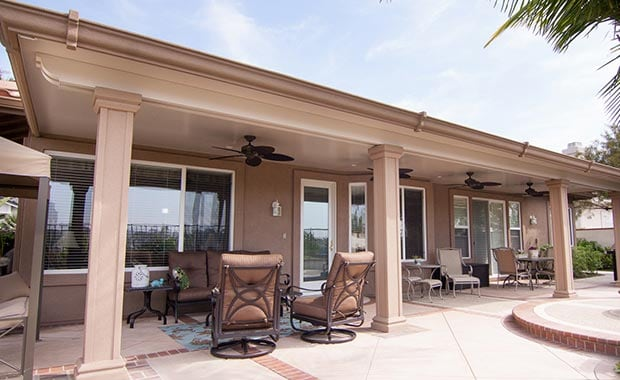 Aluminum Patio Covers Gallery