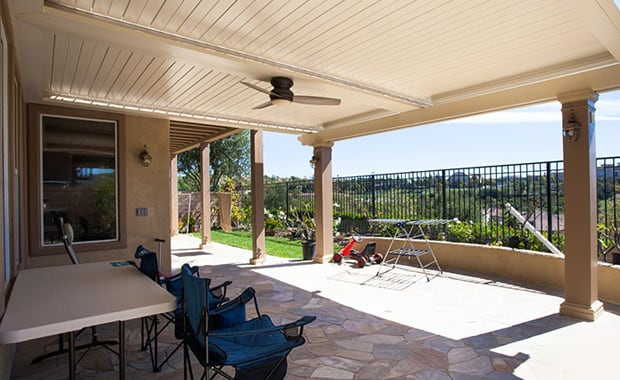 Apollo Louvered Patio Covers in Anaheim, Yorba Linda, Mission Viejo