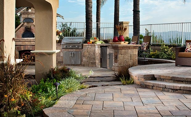 patio warehouse concrete pavers orange county california