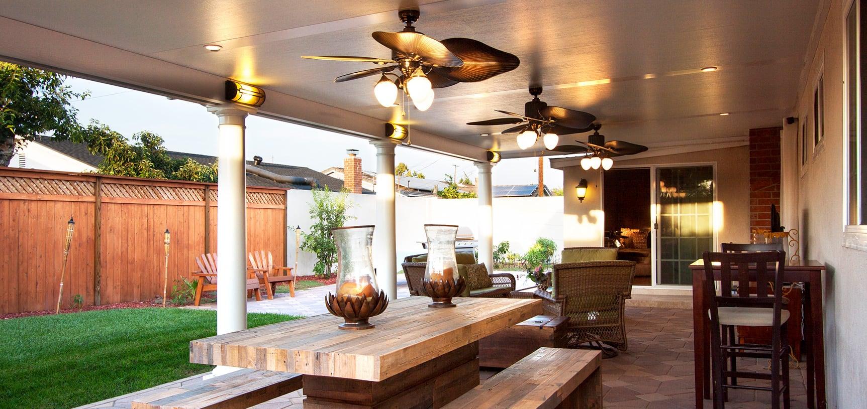services aluminum patio covers