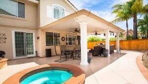 services patio covers colored concrete orange county california