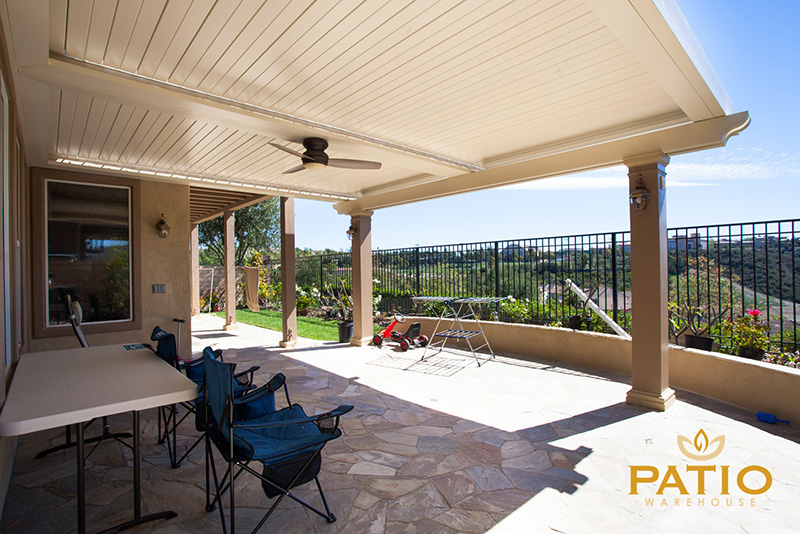 Apollo Louvered Patio Cover in Orange County, California