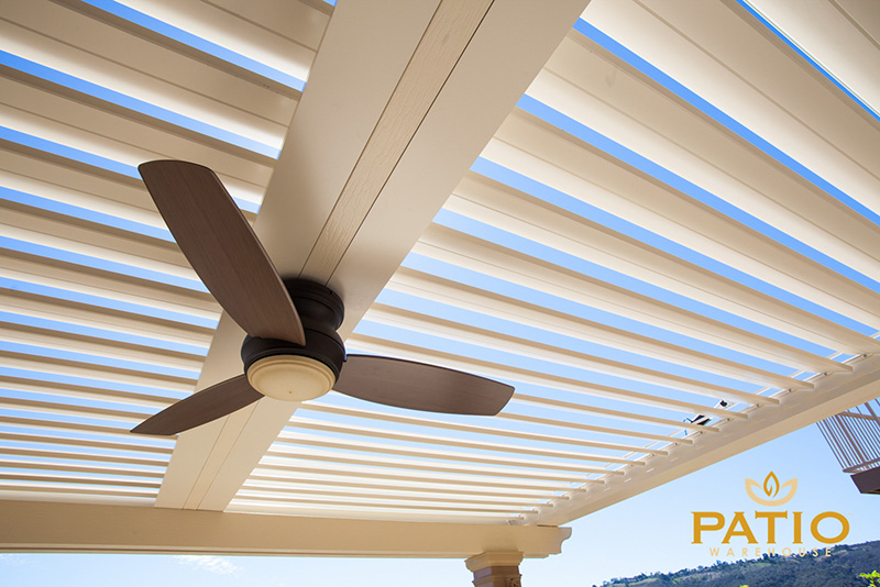Apollo Louvered Patio Cover in Orange County, CA