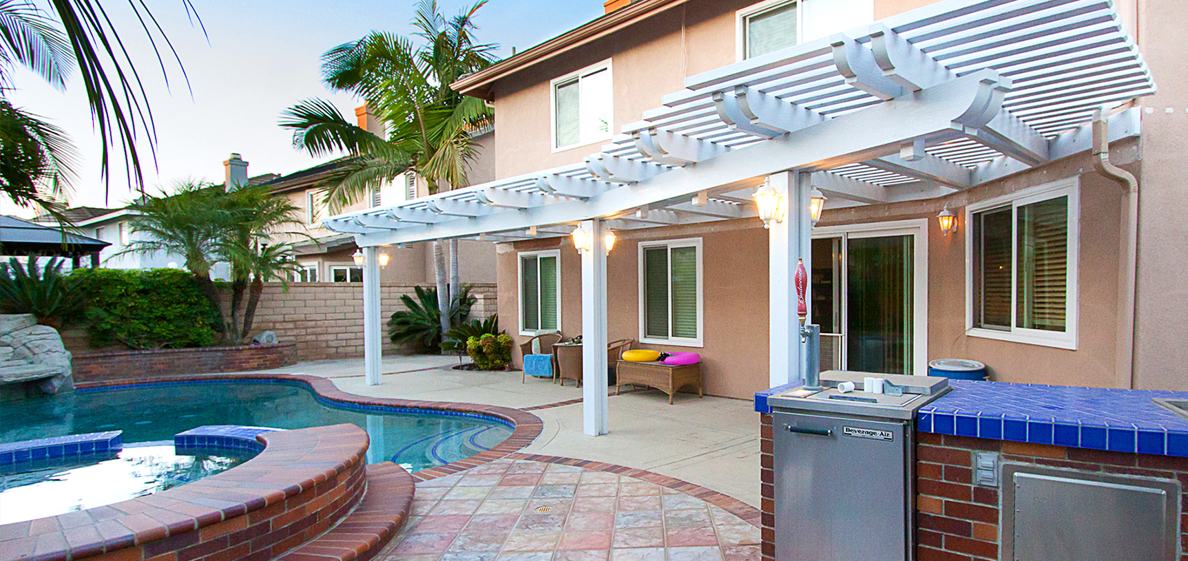 Elitewood Patio Cover in Orange County, California