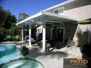 Elitewood Solid Patio Cover in The OC of California