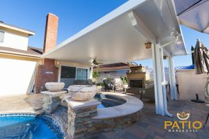 Elitewood Solid Patio Cover Patio Warehouse in the OC, CA