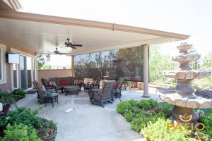 Orange County, CA Elitewood Solid Patio Cover