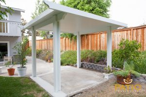 Orange County, California Elitewood Solid Patio Cover