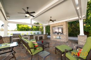 Elitewood Solid Patio Cover in Orange County, CA