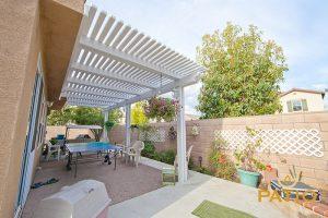 Elitewood Lattice Patio Cover in Orange County, California