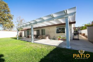 Elitewood Lattice Patio Covers in Orange County, California