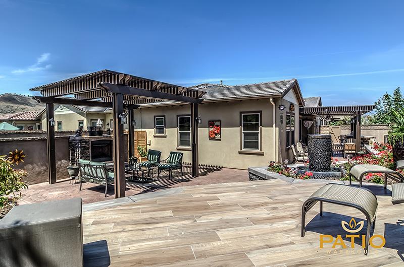 Stamped Concrete Orange County, California