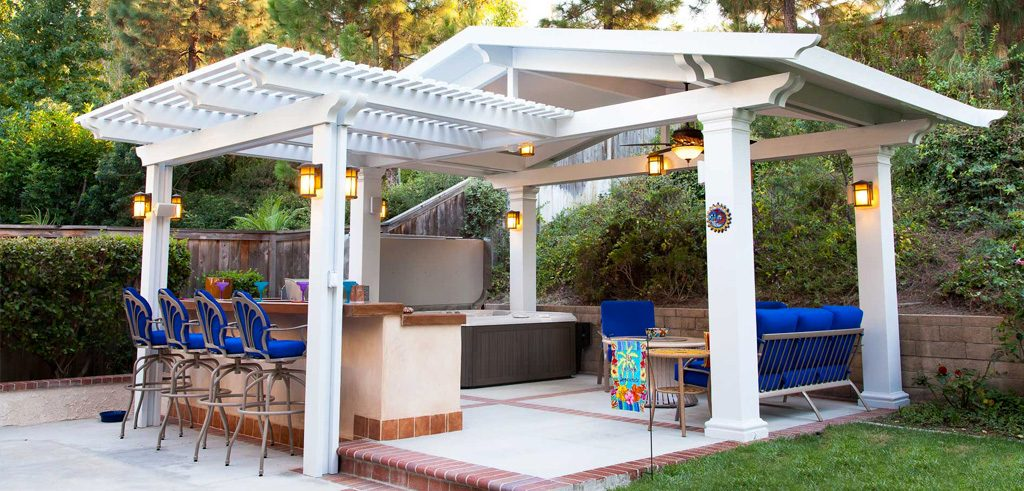 Elitewood Combo Patio Covers Orange County Patio Warehouse