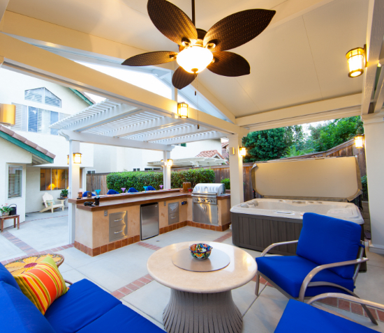 Elitewood Combo Patio Covers <small>Four Seasons Building Products</small>