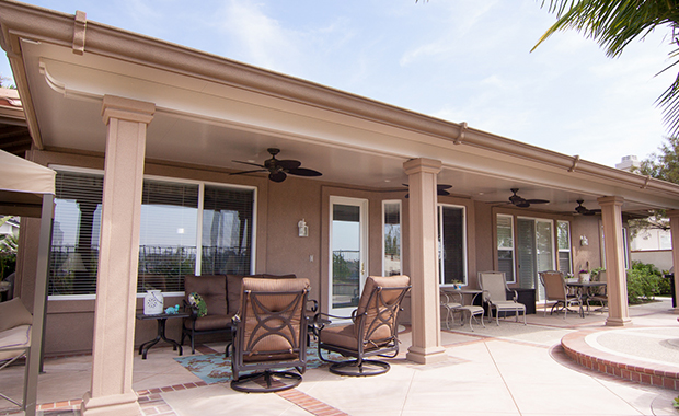 Ideas for aluminum patio covers in orange county
