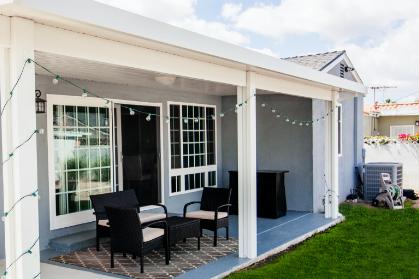 noninsulated solid patio orange county california