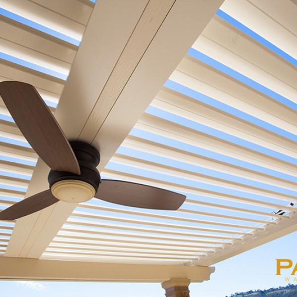 Apollo Louvered Patio Cover in Orange County, CA