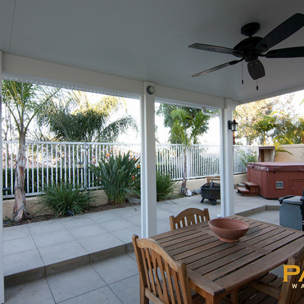 Elitewood Solid Patio Cover in Orange County, California