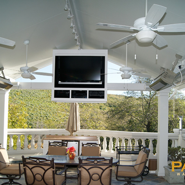 Ranger Roof Elitewood Solid Patio Cover in OC CA Patio Warehouse