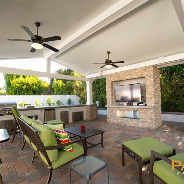 Ranger Roof Solid Patio Cover in Orange County, California