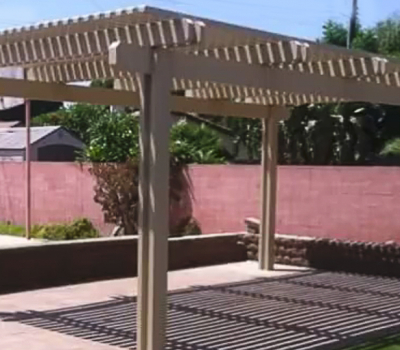Aluminum Pergolas in Orange County, CA