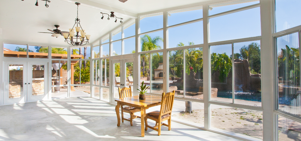 orange county california sunroom