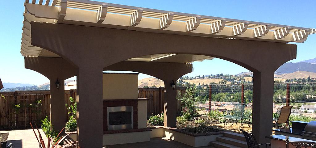 Apollo Louvered Patio Cover Outdoor Space