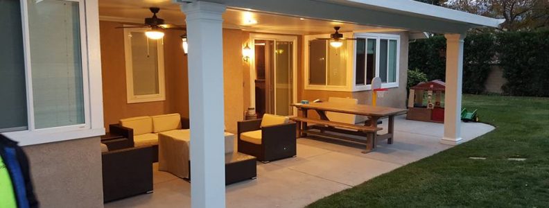 Elitewood Classic Solid Patio Covers in Orange County