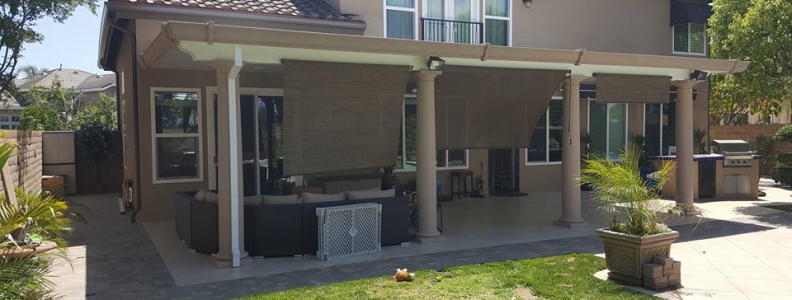 Solid Elitewood Patio Cover in OC