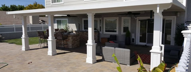 Aluminum Patio Roof Panels ~ Built to Blend & Match Your Home