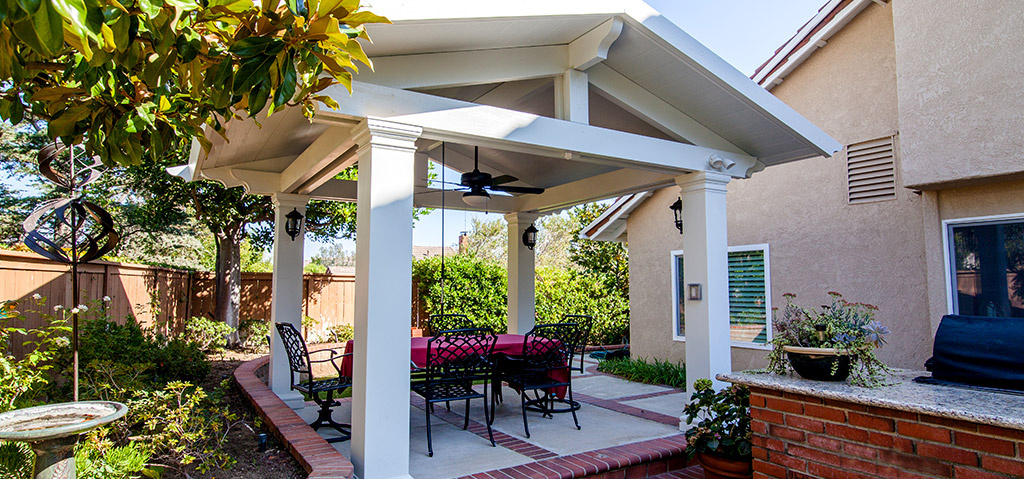 Ranger Roof Solid Patio Cover in Orange County, CA