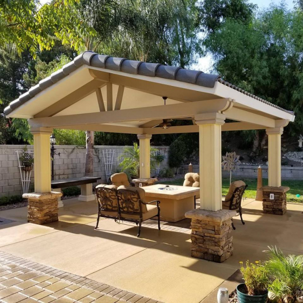 Ranger Roof Corbel End Cut Patio Cover