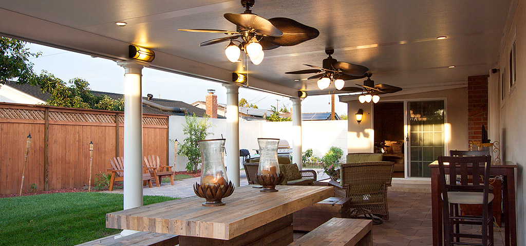 Solid Patio Cover in Orange County